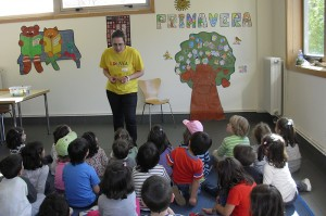 actividades nenos coles biblios