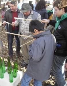 xogos tradicionales botellas